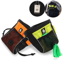 Load image into Gallery viewer, Dog Treat Pouch Belt Clip-on with Poop Bag Dispenser - Dog Nation