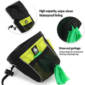 Dog Treat Pouch Belt Clip-on with Poop Bag Dispenser - Dog Nation