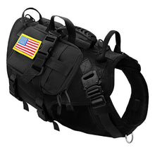 Load image into Gallery viewer, Tactical Dog Harness K9 For Medium Large Dogs - Dog Nation