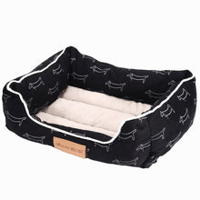 Load image into Gallery viewer, Comfortable Soft & Stylish Dog Bed