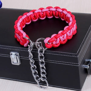 High Quality Braided Dog Collar