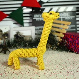 Giraffe Cotton Rope Toy for Dogs - Dog Nation