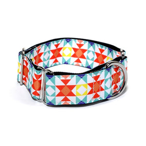 Martingale Dog Collar Ideal For Greyhounds 2.5 - 3.8cm Wide Collar - Dog Nation