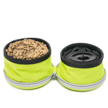 Load image into Gallery viewer, Collapsible 2 in 1 Dog Bowl for Food and Water - Dog Nation