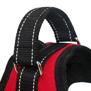 Adjustable Nylon No Pull Dog Harness Vest - Dog Nation