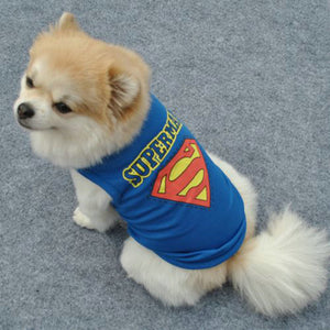 Princess & Superman Dog T-shirt - Dog Nation