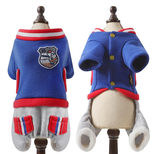 Super Soft Warm Dog Jumpsuit - Dog Nation