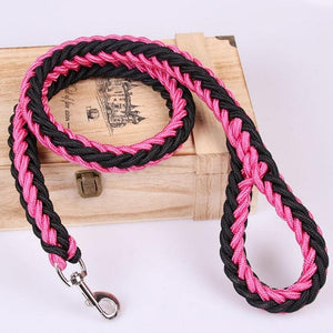 1.2m Hand-knitted Nylon Dog Leash for Medium to Large Dogs