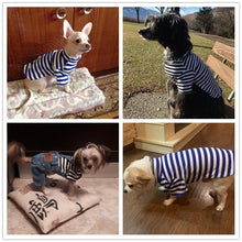 Load image into Gallery viewer, New Collection Navy Dog Outfit Cotton - Dog Nation