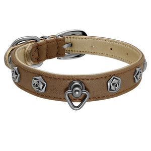 New Design Genuine Leather Dog Collar - Dog Nation