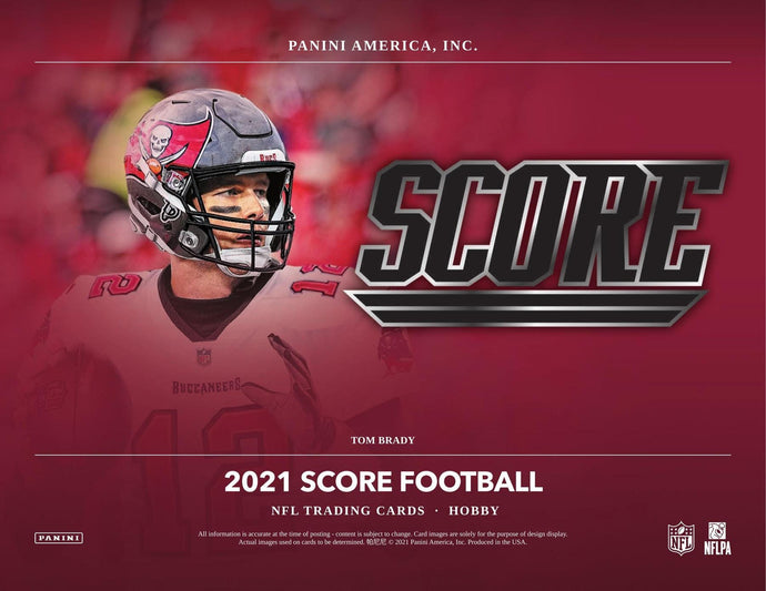 2021 Panini Score Football 3 Box Triple-Tiered Random Break - Breaks on 5/16/21