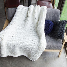Load image into Gallery viewer, Original Chunky Knit Blanket