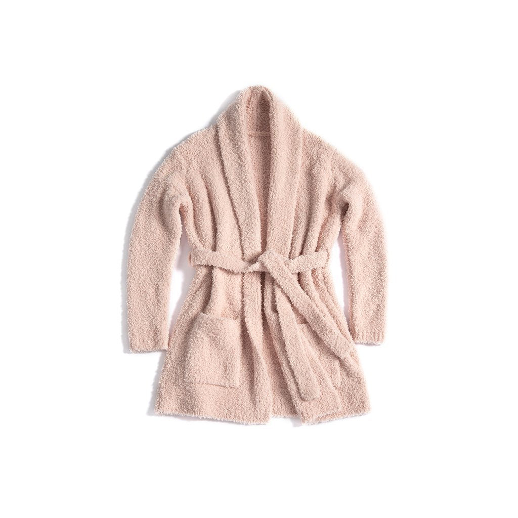 CLEMENCE COZY ROBE S/M,BLUSH