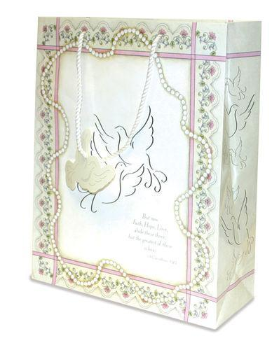 Gift Bag: Wedding Doves (6 Pack)