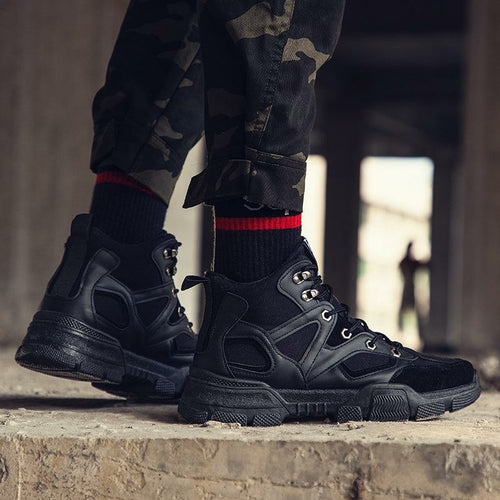 Inner height sneakers Martin boots