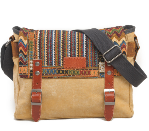 Women's Vintage Ethnic Style Messenger Bag
