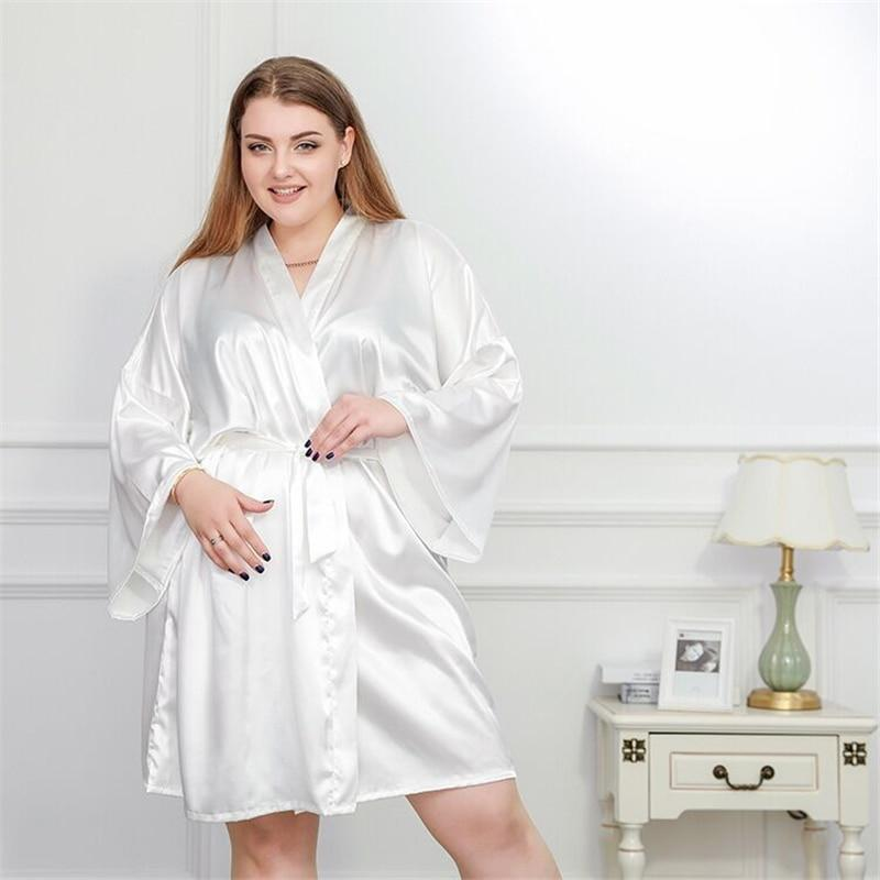 Large size nightdress clear rope pajamas
