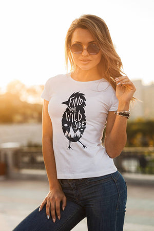 Find Your Wild Side Shirt Women T Shirt Women