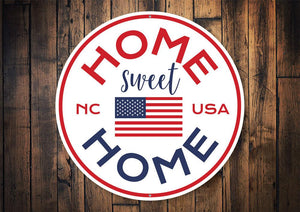 Home Sweet Home Circle Sign