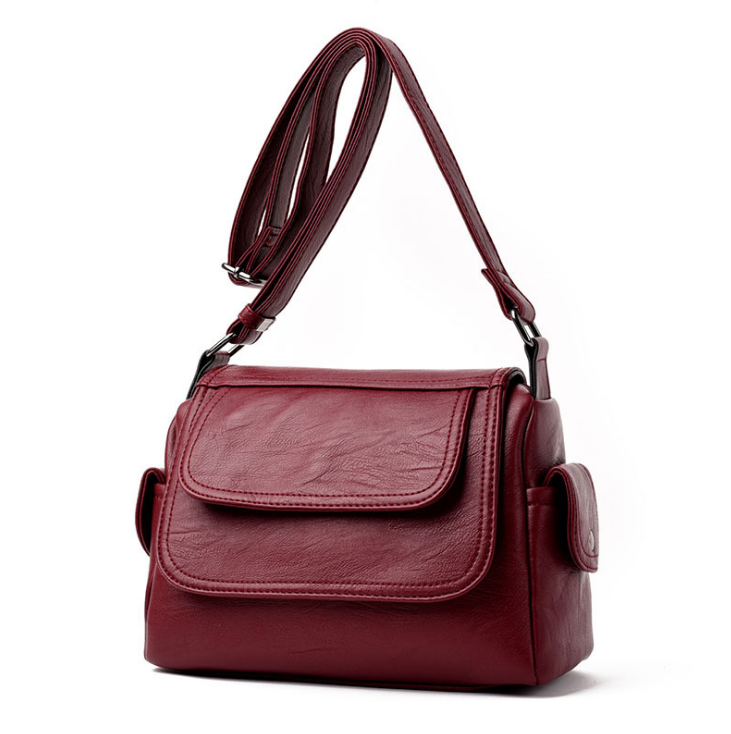 Women's High Quality Leather Messenger Bag