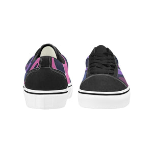 Pink Women's Lace-Up Wakerlook Canvas Shoes