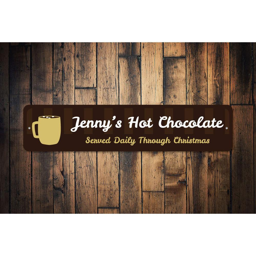 Hot Chocolate Bar Sign