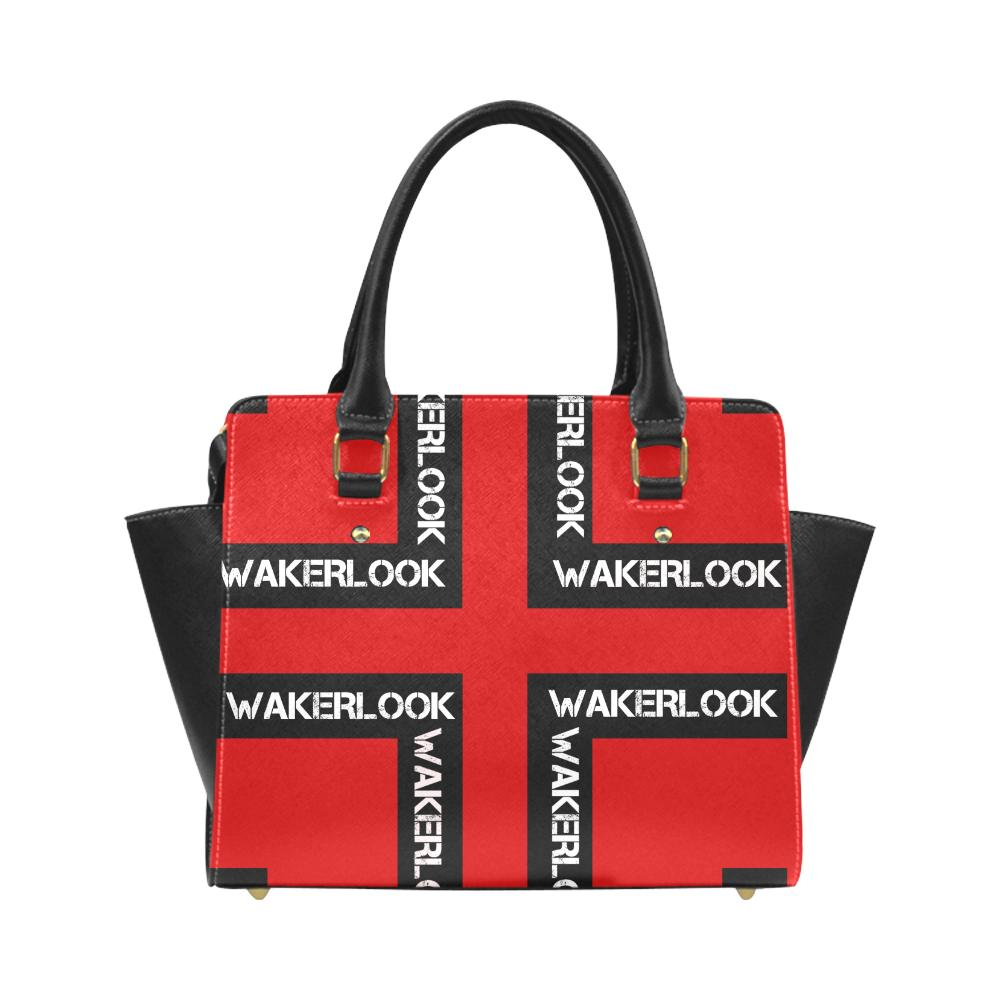 Red Classic Wakerlook Shoulder Handbag