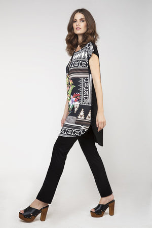 Jungle Print Tunic