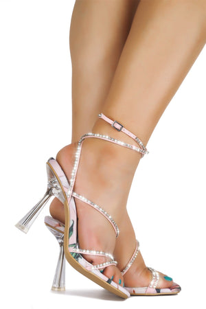 WINTA PERFECT CHOICE HEELED SANDAL-BLUSH
