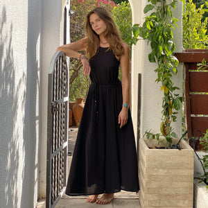 CALLIE MAXI DRESS - BLACK