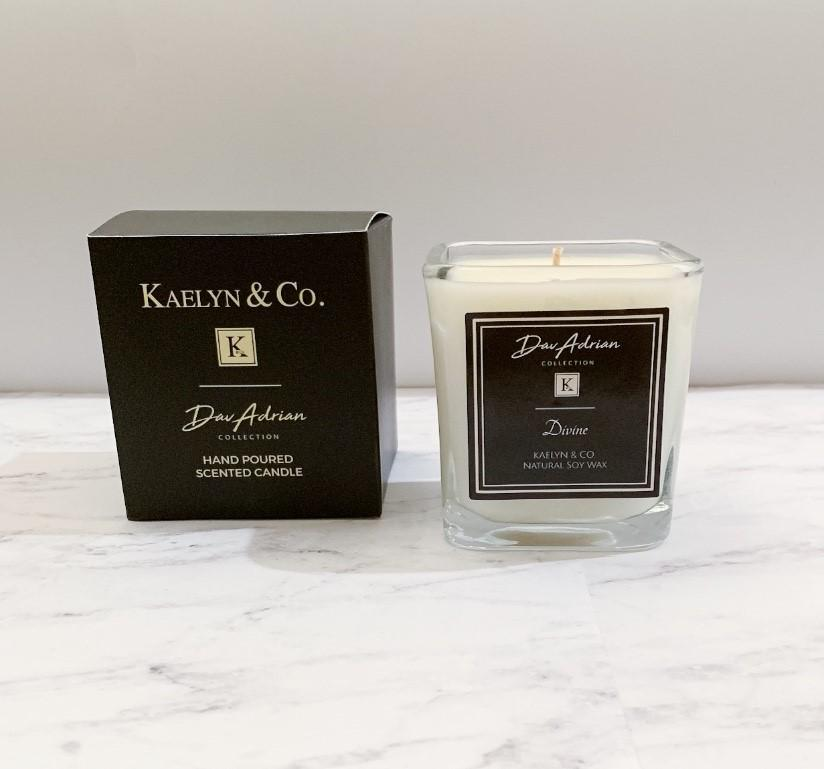 DavAdrian Collection Divine Small Cube Candle