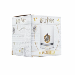 Harry Potter  Glass Tumbler - Hufflepuff House Pride