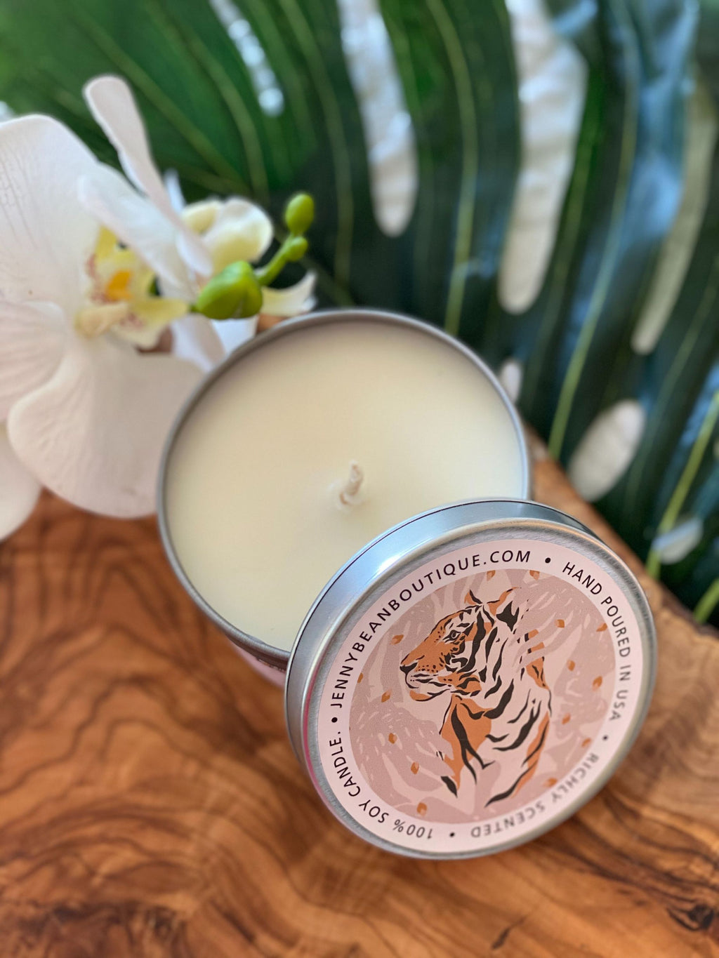 Pink Pepper & Vetiver- Tiger Soy Candle