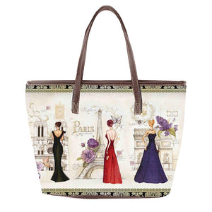 OH Fashion Handbag Tote Glamourous Paris