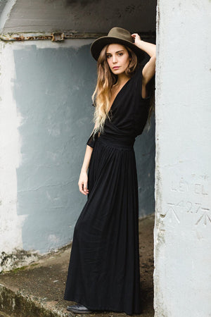 Stevie Maxi Skirt | Black