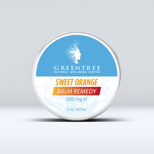 GreenTree Naturals 500 mg Balm Remedy - Sweet Orange