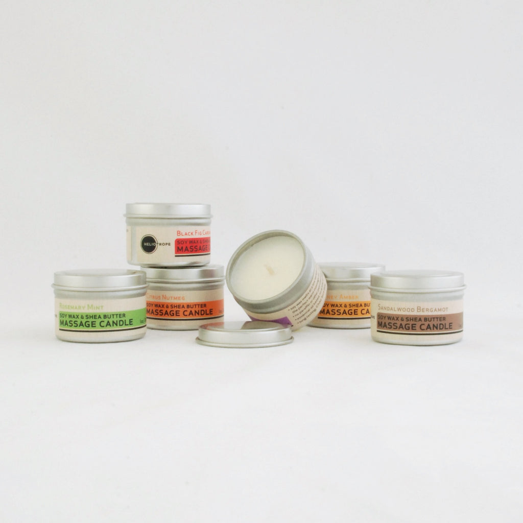 Soy Wax & Shea Butter Massage Candles