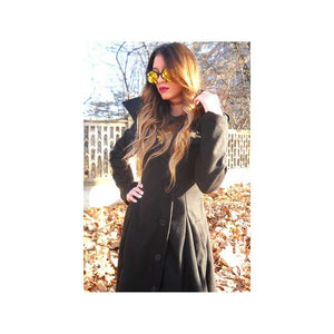 Plus Size 5XL Women Hooded Trench Coat Fall