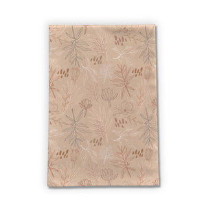 Desert Leaf Tea Towel