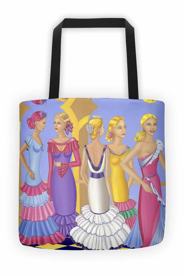 Sharon Tatem Fashion Tote bag All About The Dress