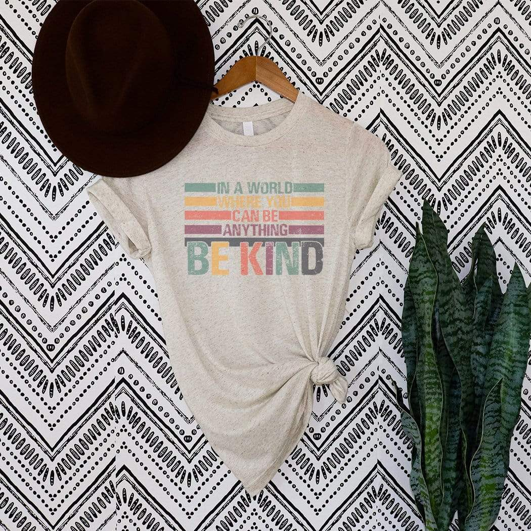 Be Kind Distressed Graphic T-Shirt