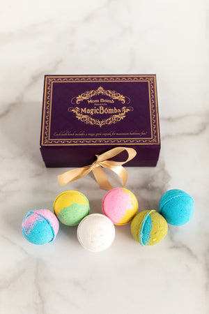 Bath Bomb Kids Gift Set with Magic Surprise