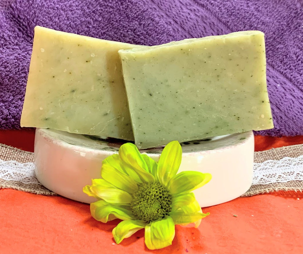 Spearmint & Eucalyptus Wholesale Soap Bars