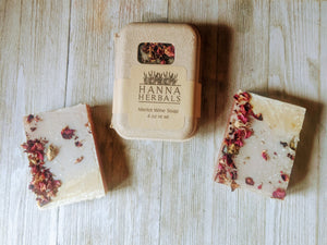 Merlot Soap - Wine Soap - bridesmaid gifts -  swag