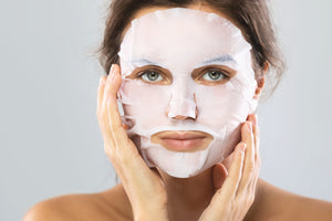 Hyaluronic Cucumber Honey Masque and 10 Compressed