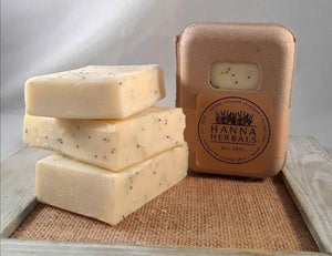 Lemon Poppyseed Soap - soap - bar soap - soap bar