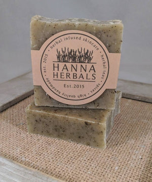 Herbal Garden Soap - cold processed soap -