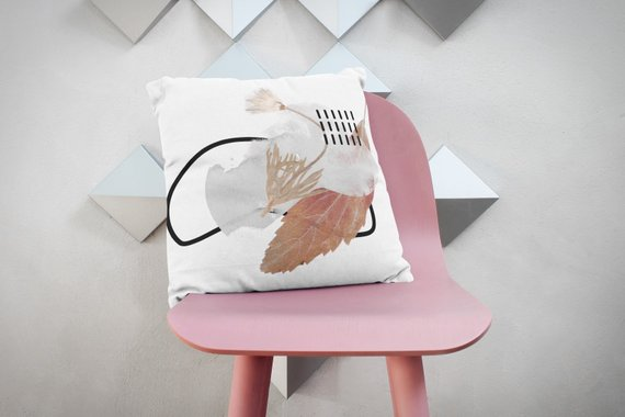 Collage Art Sofa Pillows Decorative Cushion Couch