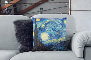 Van Gogh Starry Night Pillow Sofa Pillows