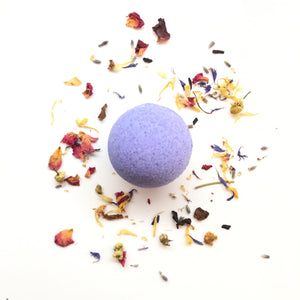 Lavender Lemongrass Bath Bombs